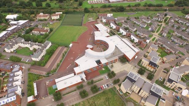 Niddrie Mill Aerial Shot